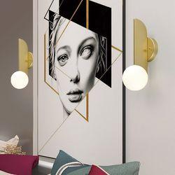 디오나 1등 벽등 조명 골드 인테리어 조명