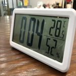 큰것이 좋아 큰숫자 선명 디지털 LCD 탁상시계 온습도