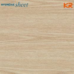 WD-163 라이트오크 우드 나이테 무늬목
