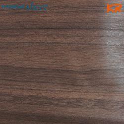 WD-324 티크 다크브라운 우드결 무늬목