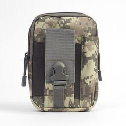 서바이벌 허리벨트 보조가방(그레이픽셀)
