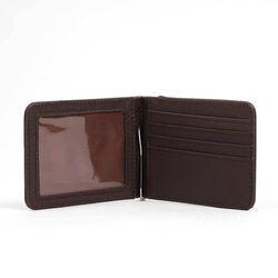 로우 머니클립 카드지갑(딥브라운)