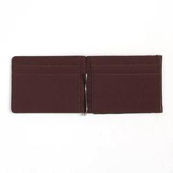타이 머니클립 카드지갑(딥브라운)
