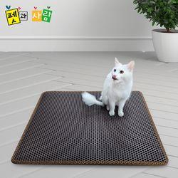 고양이 샌드매트 발판 화장실 벌집매트 사막화방지