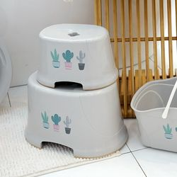 [특가] 국내생산 칵투스 미끄럼방지 목욕의자(소)