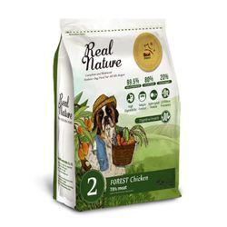 리얼네이처 홀리스틱 독 숲속의 닭고기 2kg  강아지사료