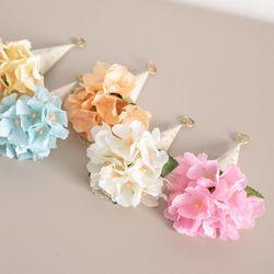 큐티수국콘꽃다발 17cmP 조화 꽃 선물 기념일 FMBBFT