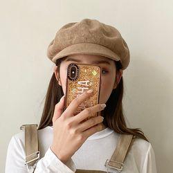 니트 슬라브 썸머 마도로스 헌팅캡 여자 빵모자