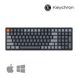키크론 K4 V2 RGB 알루미늄 무선 블루투스 기계식키보드 핫스왑