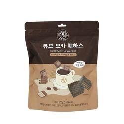 커피빈 큐브모카 웨하스 100g