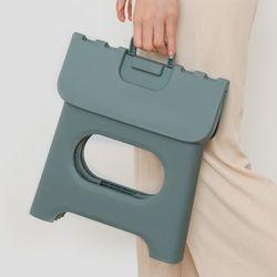 파스텔톤 접이식 욕실 화장실 의자