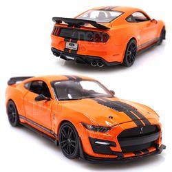 1:24 머스탱 쉘비 GT500 오렌지 미니카 다이캐스트