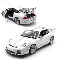1:18 포르쉐 GT3 RS 4.0 화이트 다이캐스트 미니카