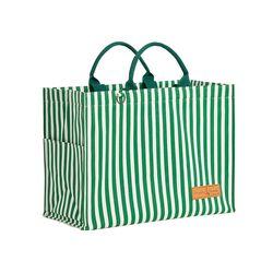 카멜레온 보냉 피크닉 가방(토트백-그린스트라이프)