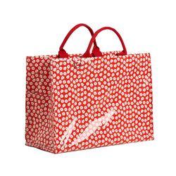 카멜레온 보냉 피크닉 가방(토트백-레드플라워)