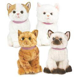 [몽글냥글 애니멀] 귀여운 리얼 고양이 인형 30cm 4종