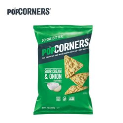 Popcorners 팝코너스 칩 사워크림 어니언 대용량
