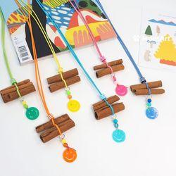 시나몬 목걸이  해충기피목걸이 DIY - 스마일