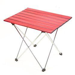 알루미늄 롤 테이블 7단 레드