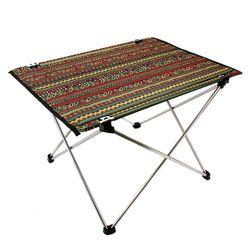 커스커즈 포리 테이블 패턴(캠핑테이블)