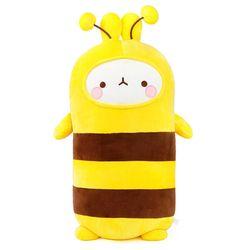 [몰랑이] 쫀득쫀득 소프트 몰랑 애착 바디쿠션 55cm 꿀벌
