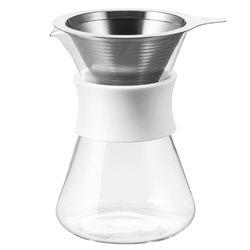 하리오 심플리 글라스 커피 메이커 S-GCM-40-W