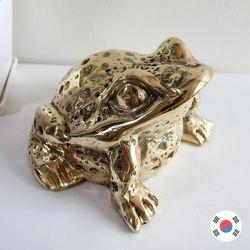 재물복 황금 두꺼비 동공예 장식품 STD-509