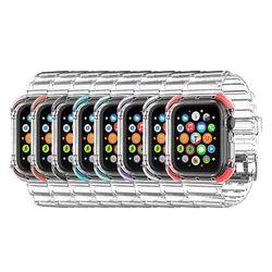 갤럭시 워치 s3 밴드 투명 풀커버 스트랩 시계줄 46mm