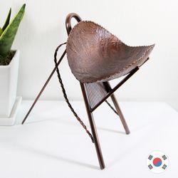재물운 지게(대) 전통 동공예 풍수 장식품 STD-525