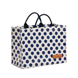 카멜레온 보냉 피크닉 가방(토트백-블루도트)