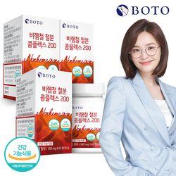 [무료배송] 비헴철 철분 콤플렉스 200 60정 3박스 6개월분