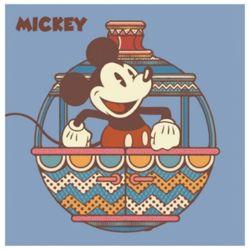 디즈니 그림그리기 DIY 미키홀리데이 블루 25X25