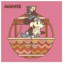 디즈니 그림그리기 DIY 미키홀리데이 핑크 25X25