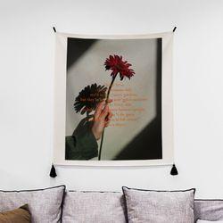 포토 행잉 패브릭 포스터chrysanthemum 01 (행잉M)