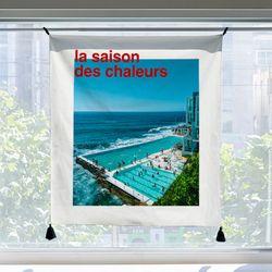 포토 행잉 패브릭 포스터 la saison des chaleurs 01 (행잉M)