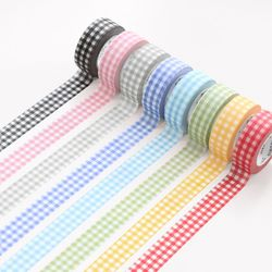 아이코닉 마스킹 테이프 깅엄 8 color