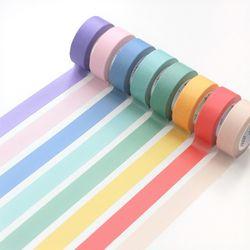 아이코닉 마스킹 테이프 솔리드 8 color