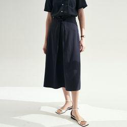 Martha A-line Skirts - Navy