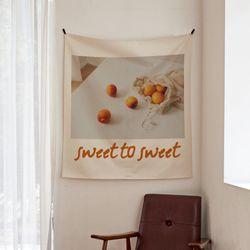포토 행잉 패브릭 포스터 sweet to sweet 01 (행잉M)