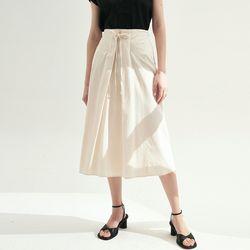 Martha A-line Skirts - Ivory