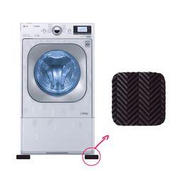 세탁기 냉장고 받침대 4개입 소음 진동 방지 흔들림 흡수 패드