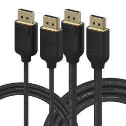 VESA 인증 DP to DP 1.4 8K DisplayPort 케이블 3m