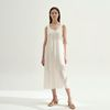 Dazzling Sleeveless Dress - Ivory