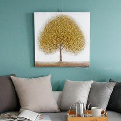 캔버스 나무 -황금나무