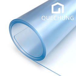 쾌청 PVC 데스크 투명 매트 책상 덮개 깔판 고무 패드