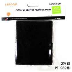 LEECOM 리콤 측면여과기 PF-282용 리필필터 [2개입] SP-82