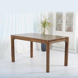 [파로마]오델리 고무나무원목 4인 식탁테이블 AC