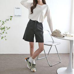 Sarah Denim Shorts