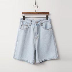 Summer Light Denim Shorts