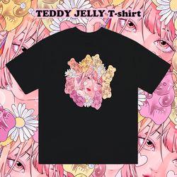 페가콘아이즈 테디젤리 티셔츠